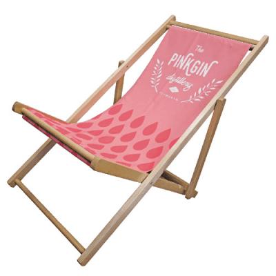 Branded deckchair