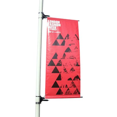 Airspring Lamp Post Banner