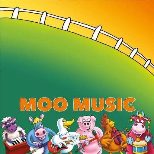 Moo Music Table Cloth