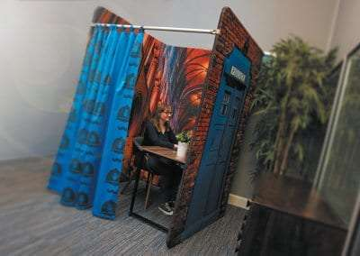 Fabric Meeting Booth