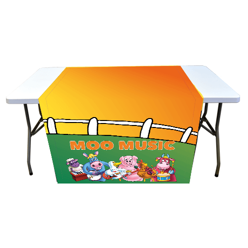 Moo Music Table Runner