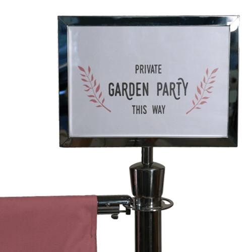 Cafe Banner Sign