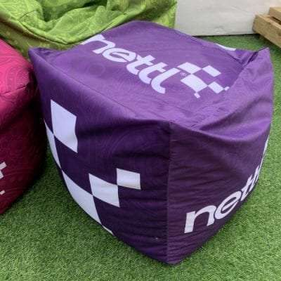 Indoor Cube Beanbag