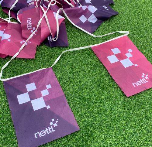Rectangle bunting